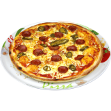 Pizza Feuerteufel (Jumbo)