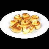 Ofenfrische Pizzabrötchen - Schinken