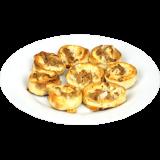 Ofenfrische Pizzabrötchen - Tuna